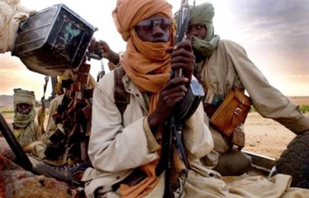 Schwer bewaffnet: Islamisten am Samstag bei Gao