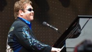 Gibt zum Abschied alles: Elton John auf Tour in Deutschland.
