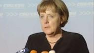 Merkel sieht keine Anzeichen für Rezession