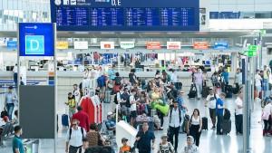 Frankfurter Flughafen mit neuem Tagesrekord