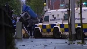 Straßenschlachten in Belfast