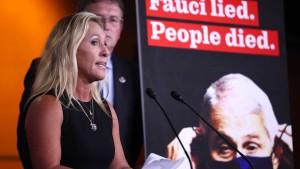 Corona-Experte Fauci soll entlassen werden