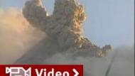 Merapi speit weiter Gas und Lava