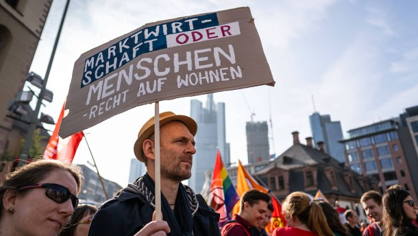 So will Frankfurt Mieter gegen Spekulanten schützen