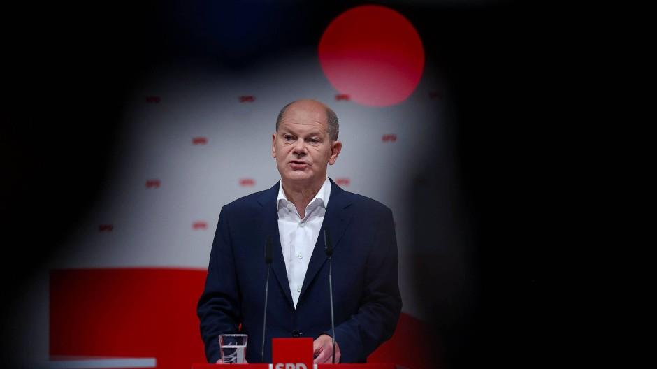 Olaf Scholz sitzt seit März 2018 an der Spitze des Finanzministeriums.