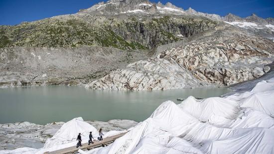 Schweizer Gletscher schmelzen alarmierend schnell