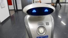 "Roboter ""Franzi"" kann rappen und reinigen"