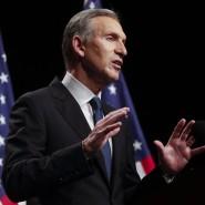 Brachte sich einst als unabhängiger Gegenkandidat zu Donald Trump ins Gespräch und soll nun im Handelskonflikt vermitteln: Howard Schultz, früherer Starbucks-Chef.
