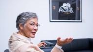 Stimmen zusammenbringen, Brücken bauen: Karin Schmidt-Friderichs in ihrem neuen Büro des Börsenvereins des Deutschen Buchhandels