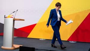Die Zerstörung der CDU