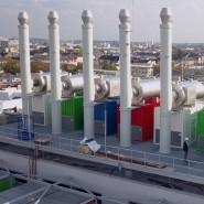 Dachlandschaft: Vantage DC hat die Kühlaggregate des Offenbacher Rechenzentrums aufs Gebäude gesetzt.