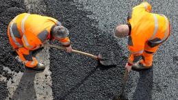 Der Straßenbau droht gestoppt zu werden