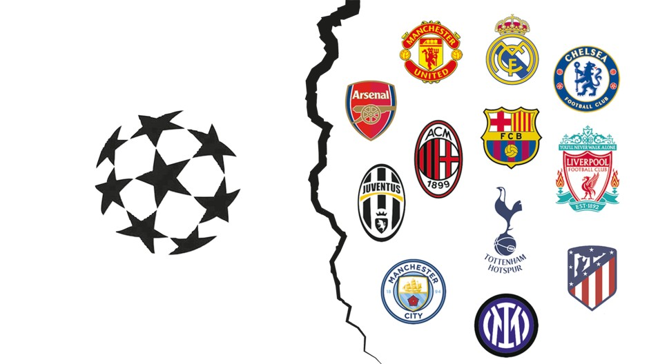 Ein Bruch geht durch den europäischen Vereins-Fußball