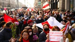 Landesweiter Generalstreik gegen Lukaschenko