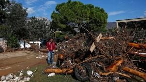 Starkes Unwetter in Griechenland