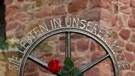 Gegen das Vergessen: Das Sinti-Denkmal in Hattersheim-Okriftel