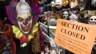 Gar nicht lustig: Clowns sind beliebte Halloween-Verkleidungen.