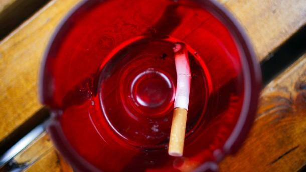 ... in dem ich beschloss, mit dem Rauchen aufzuhören