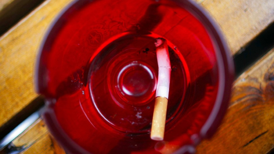 Die wirklich allerletzte Zigarette
