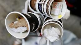 Mehrwegsystem für Kaffeebecher soll Müll verringern
