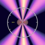 Kurzstreckenflug: Im Experiment wurde gemessen, wie lange ein Lichtquant braucht, um ein aus zwei Atomen bestehendes Wasserstoffmolekül zu durchqueren.