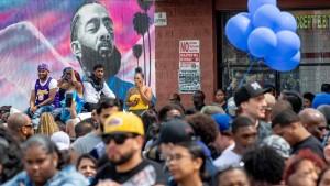 Tödliche Schüsse am Rande der Trauerfeier für Nipsey Hussle
