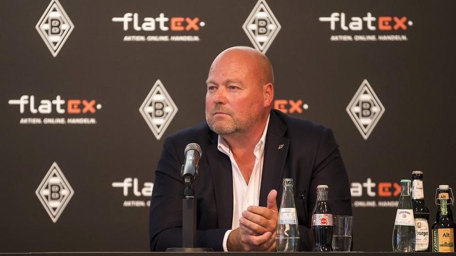 Frank Niehage, Vorstandsvorsitzender des Online-Brokers Flatex Degiro, der die Fußballmannschaft von Borussia Mönchengladbach sponsort.