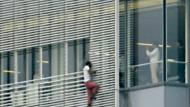 Freeclimbing an New Yorker Wolkenkratzer