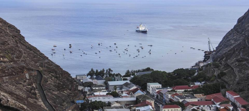 Insel St Helena Wird Durch Flughafen Zum Touristenziel