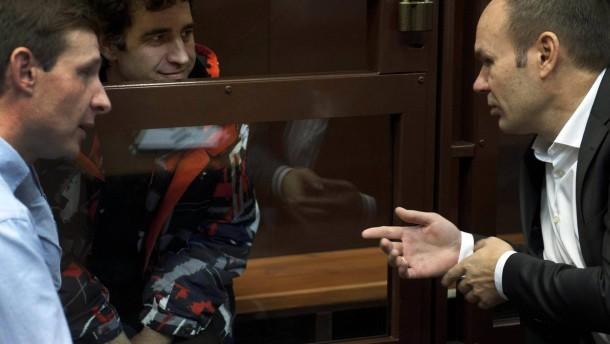 Russland lässt Piraterie-Vorwurf fallen