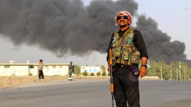 Zahlreiche Tote bei Angriff auf Polizeiquartier in Afghanistan