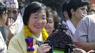 Die Bergsteigerin Junko Tabei, hier auf einem Foto von 2003