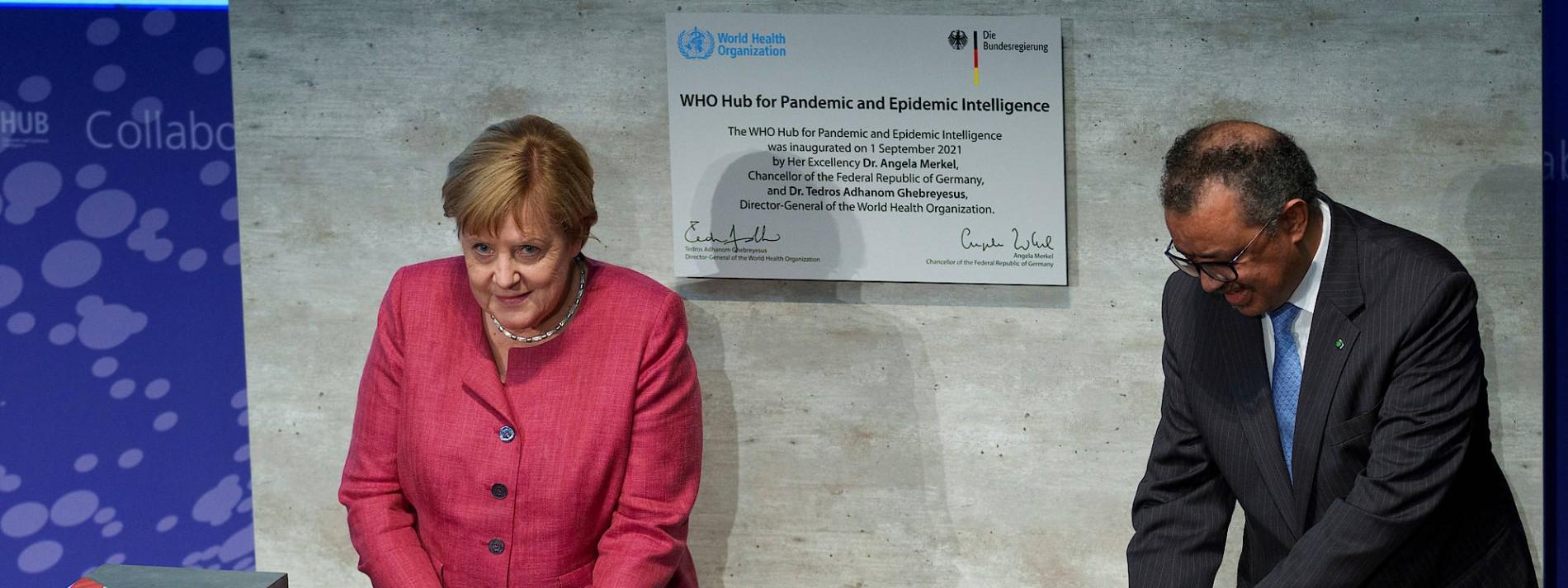 WHO-Zentrum zur Pandemie-Bekämpfung eröffnet