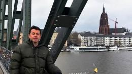 Zu Gast im Frankfurter Winterregen