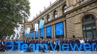 Der schwäbische Softwarekonzern Teamviewer ist eines von drei Unternehmen, die 2019 den Gang an die Frankfurter Börse wagten.
