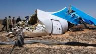 Russischer Geheimdienst stuft Sinai-Absturz als Anschlag ein