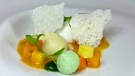 Dirk Luther köstliche Kreationen bedienen sich der globalen Speisekammer.