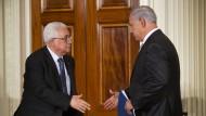 Der ewige Streit im Nahost: Palästinenserpräsident Abbas und Israels Ministerpräsident Netanjahu
