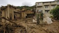 Dutzende Tote bei Erdrutsch im japanischen Hiroshima
