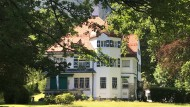 """Erbaut mit dem Geld, das er mit seiner Oper """"Salome"""" verdiente, bezogen 1908: die Villa von Richard Strauss in Garmisch-Partenkirchen"""