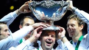Tschechien verteidigt Davis-Cup-Titel