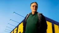 Ikea-Gründer Ingvar Kamprad hat ein Milliardenvermögen und schätzt dennoch Bescheidenheit.