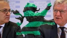 Sondierungsgespräche zwischen Grünen und CDU