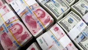 China stützt wohl mit erheblichen Mitteln den Yuan-Wechselkurs