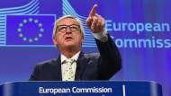 Junckers Blick in die Zukunft: Was wird aus der EU?