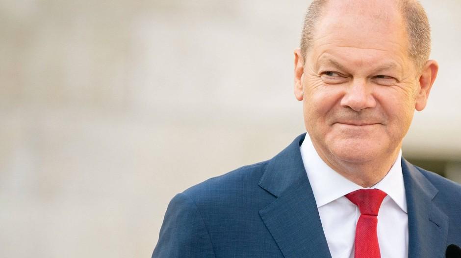 Bundesminister der Finanzen, Olaf Scholz, im Juni in Berlin