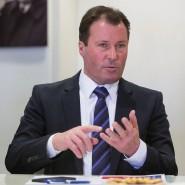 Optimistisch: Wolfgang Marzin, Geschäftsführer der Messe Frankfurt.