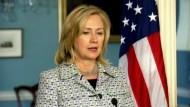 Clinton mahnt Assad