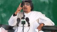 Gaddafi: Heiliger Krieg gegen die Schweiz