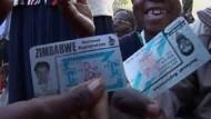 Urnengang in Zimbabwe